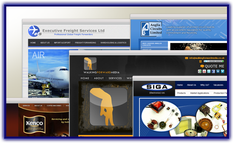 Creating custom websites you will be proud of! - see our Website Portfolio >