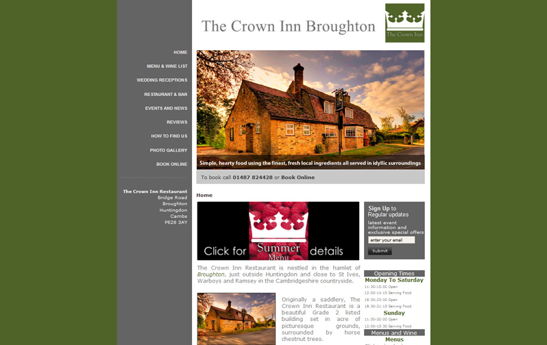 http://www.thecrowninnrestaurant.co.uk/